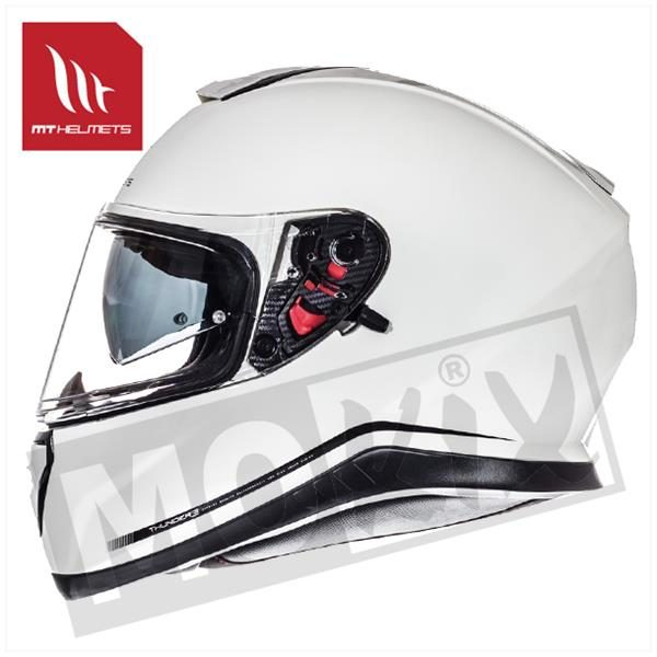 HELM THUNDER III SV SOLID WIT XS