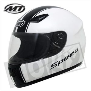 SPEED-WZ Helm Wit MT